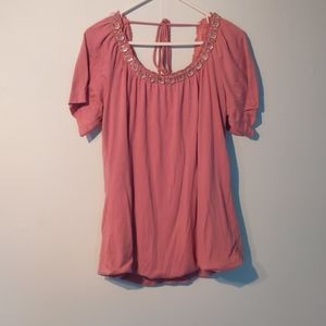 Maurices pink top